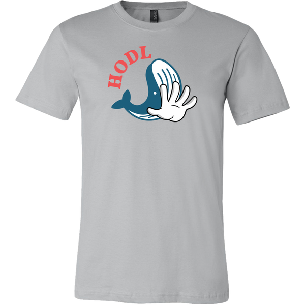 Blue Whale Hodl Shirt (Multi-Color)-T-shirt-CryptoBird