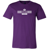 Digibyte White King Shirt (multi-color)-T-shirt-Power Purple-S-CryptoBird