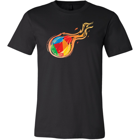Reddcoin Fire Shirt (Multi-Color)-T-shirt-CryptoBird