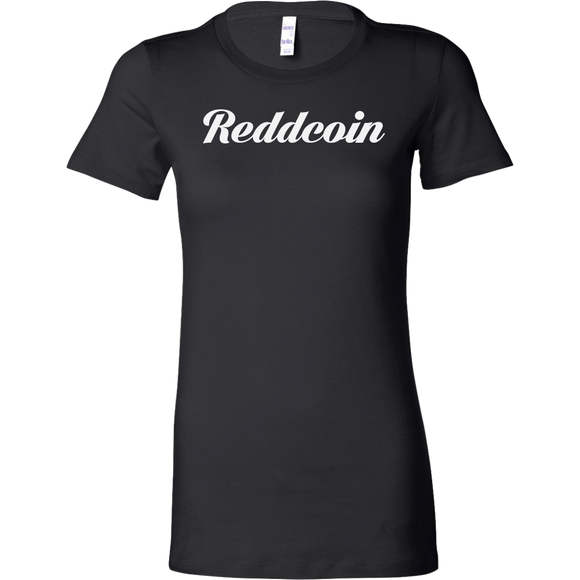 Reddcoin Caligraphy Bella Shirt