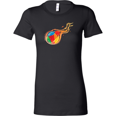 Reddcoin Women Fire Shirt