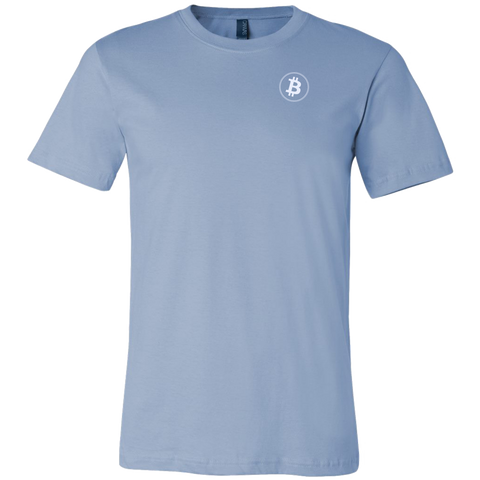 Bitcoin Shirt Ice Blue-T-shirt-CryptoBird