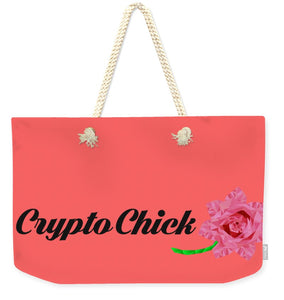 Crypto Chick - Weekender Tote Bag