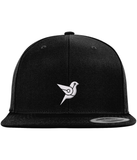 CryptoBird Private Label Snapback-Embroidered Hats-Black-No-CryptoBird