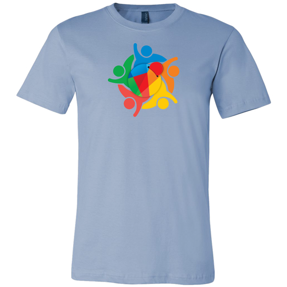Reddcoin Community Shirt (Multi-Color)-T-shirt-Ice Blue-S-CryptoBird