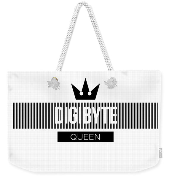 Digibyte Queen - Weekender Tote Bag