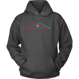 Reddcoin Arch Hoodie (Multi-Color)-T-shirt-Marengo Grey-S-CryptoBird