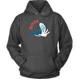 Blue Whale Hodl Hoodie (Multi-Color)-T-shirt-CryptoBird