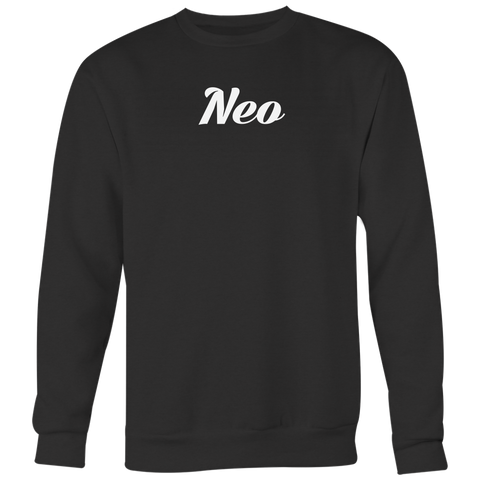 NEO Calligraphy Crewneck (Multi-Color)-T-shirt-CryptoBird