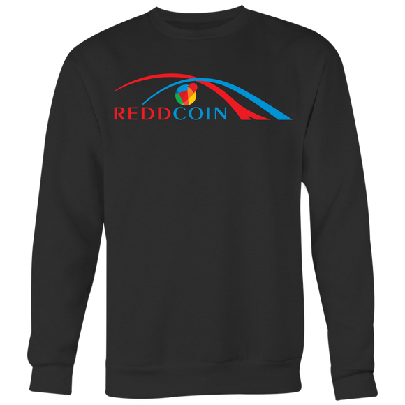 Reddcoin Arch Sweater (Multi-Color)-T-shirt-Onyx Black-S-CryptoBird