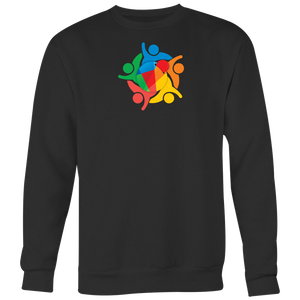 Reddcoin Community Sweater (Multi-Color)-T-shirt-Onyx Black-S-CryptoBird