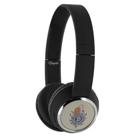 Bitcoin Wireless Headphone 'The Wise One'