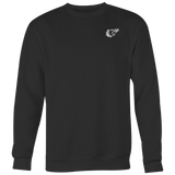 REQ Crewneck Onyx Black-T-shirt-CryptoBird