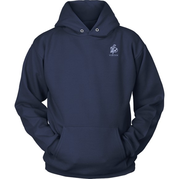 Vertan Hoodie Navy Blue-T-shirt-Navy Blue-S-CryptoBird
