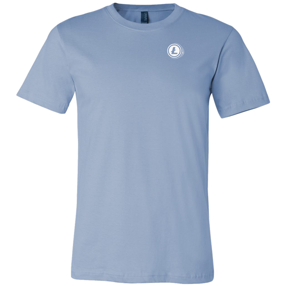 Litecoin Premium Shirt Ice Blue-T-shirt-Ice Blue-S-CryptoBird