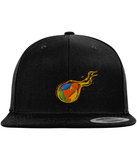 RDD Fire Snapback-Embroidered Hats-Black-CryptoBird