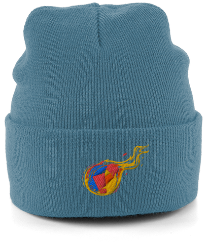 Reddcoin Fire Beanie (10 colors!)-Embroidered Hats-CryptoBird