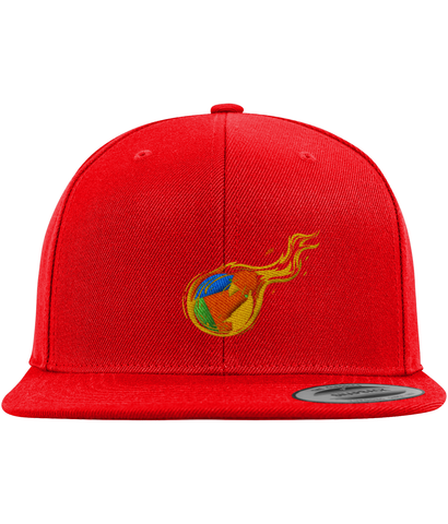 RDD Fire Snapback-Embroidered Hats-CryptoBird