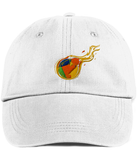 RDD Fire Twill Cap-Embroidered Hats-CryptoBird