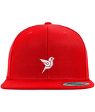 CryptoBird Private Label Snapback-Embroidered Hats-Red-No-CryptoBird