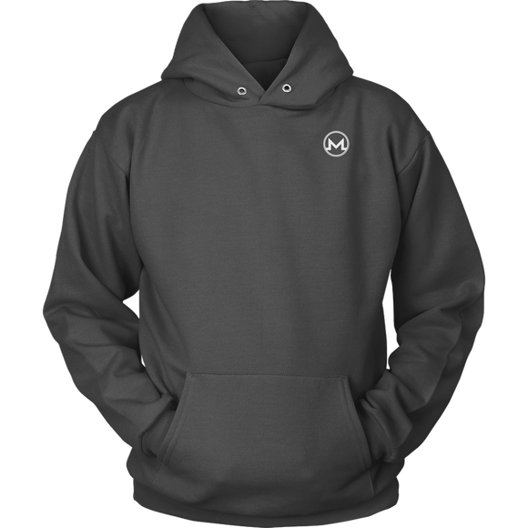 Monero Hoodie Marengo Grey-T-shirt-Marengo Grey-S-CryptoBird