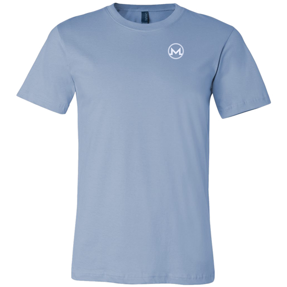 Monero Shirt Ice Blue-T-shirt-Ice Blue-S-CryptoBird