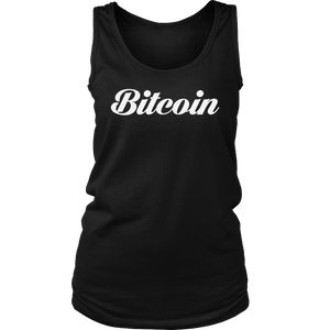 Bitcoin Caligraphy Tank