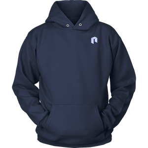 NEO Hoodie Navy Blue-T-shirt-Navy Blue-S-CryptoBird