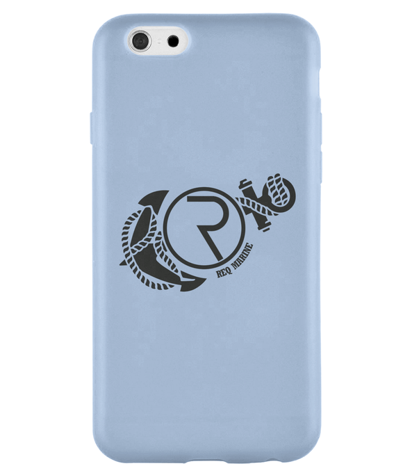 REQ Marine iPhone 6 Case-Cases-Sky Blue-CryptoBird