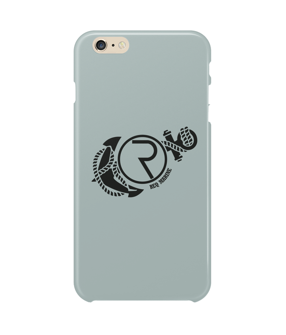 REQ Marine iPhone 6 Plus Case-Cases-Ash-CryptoBird