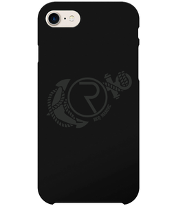 REQ Marine iPhone 7 Case-Cases-Deep Black-CryptoBird