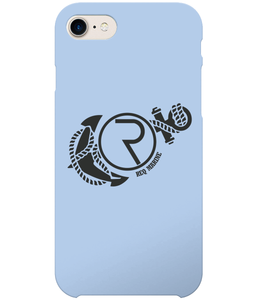 REQ Marine iPhone 7 Case-Cases-Sky Blue-CryptoBird