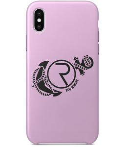 REQ Marine iPhone X Case-Cases-Pale Pink-CryptoBird