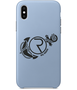 REQ Marine iPhone X Case-Cases-Sky Blue-CryptoBird