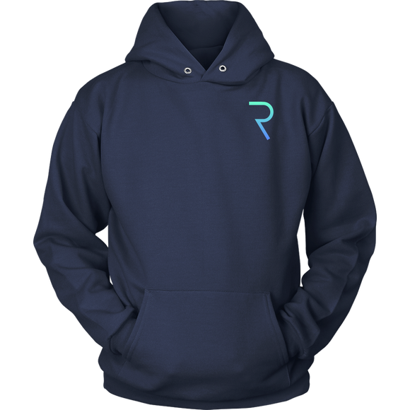 REQ Original Hoodie (Multi-Color)-T-shirt-Navy Blue-S-CryptoBird