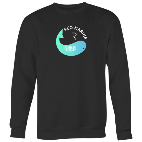 Req Whale Crewneck (Multi-Color)-T-shirt-CryptoBird