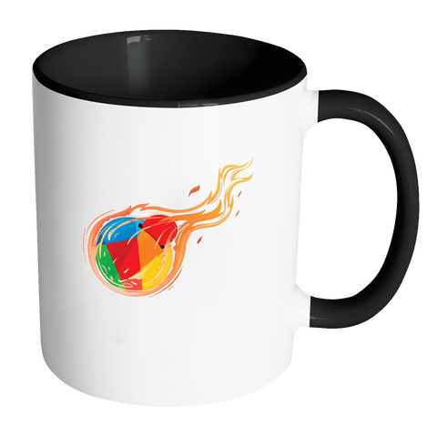 Reddcoin Fire Mug (Multi-Color)-Drinkware-CryptoBird