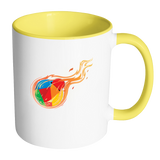 Reddcoin Fire Mug (Multi-Color)-Drinkware-Yellow light-CryptoBird
