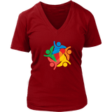 Reddcoin Women Logo V-Neck