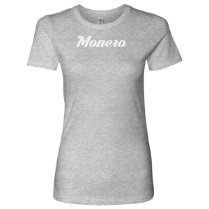 Monero Caligraphy Level Shirt