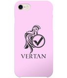 Vertan iPhone 7 Case-Cases-Pale Pink-CryptoBird