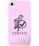 Vertan iPhone 8 Case-Cases-Pale Pink-CryptoBird