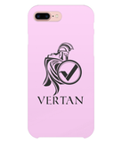 Vertan iPhone 8 Plus Case-Cases-Pale Pink-CryptoBird