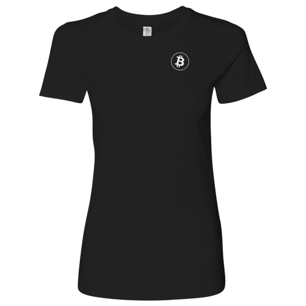 Bitcoin Logo Level Shirt-T-shirt-CryptoBird