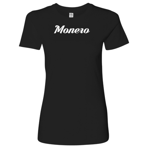 Monero Caligraphy Level Shirt-T-shirt-CryptoBird