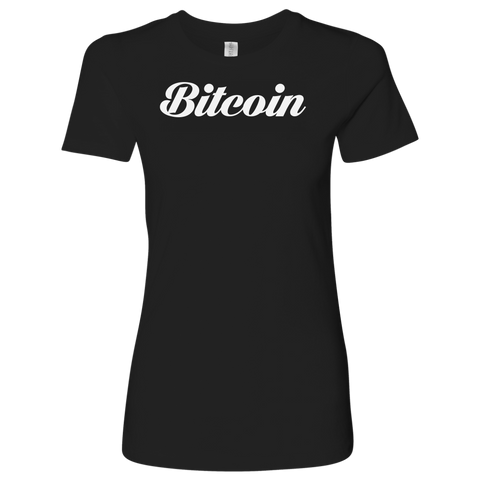 Bitcoin Caligraphy Level Shirt-T-shirt-CryptoBird