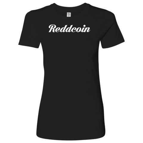 Reddcoin Caligraphy Level Shirt-T-shirt-CryptoBird