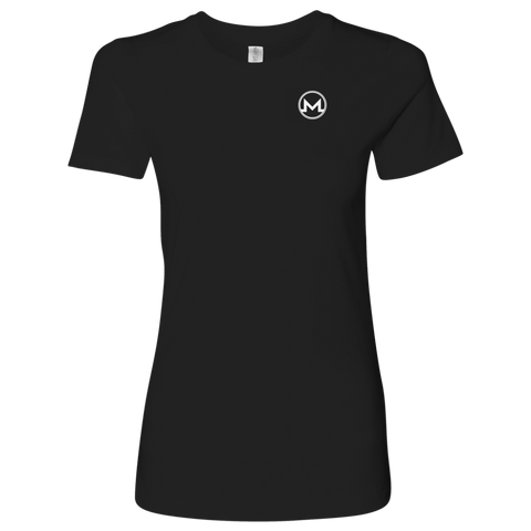 Monero Logo Level Shirt-T-shirt-CryptoBird