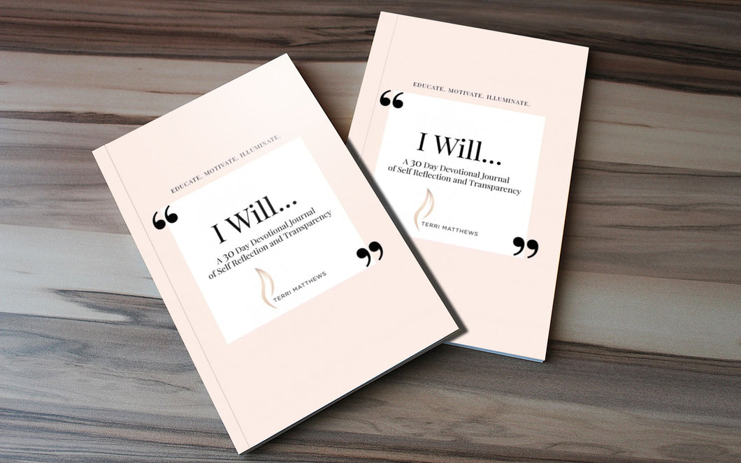 I Will - Devotional of Self - Reflection and Transparency (Full Color Edition)