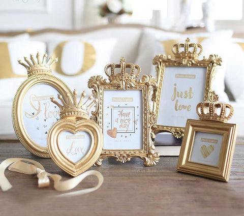 KNGDOM Gold Photo Frames, Photo Frame, WantYouNeed, WantYouNeed